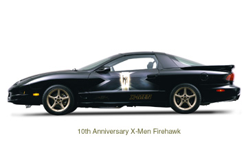 10th Anniversary X-Men Firehawk Side
